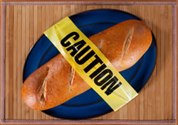 Gluten is found in wheat, rye, and barley.