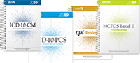 ICD-10, HCPCS, CPT Codebooks
