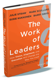 The Work of Leaders Book: Vision, Alignment, Execution Corexcel